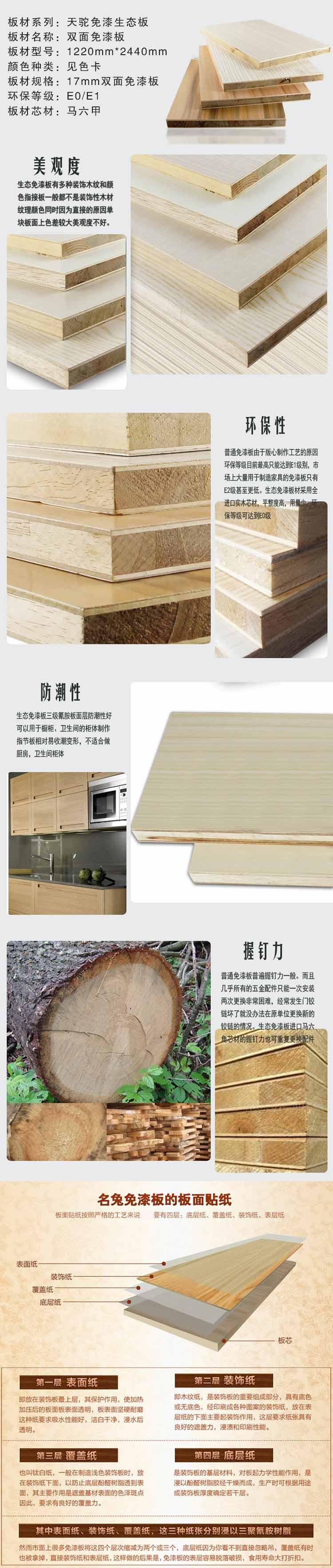 生态板工艺展示